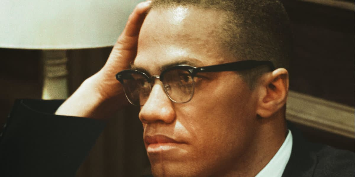 Photograph of Malcolm X